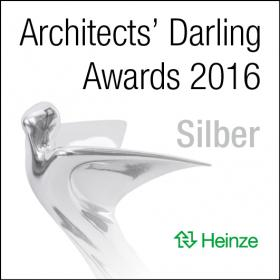 Architects' Darling Awards 2016_Silber.